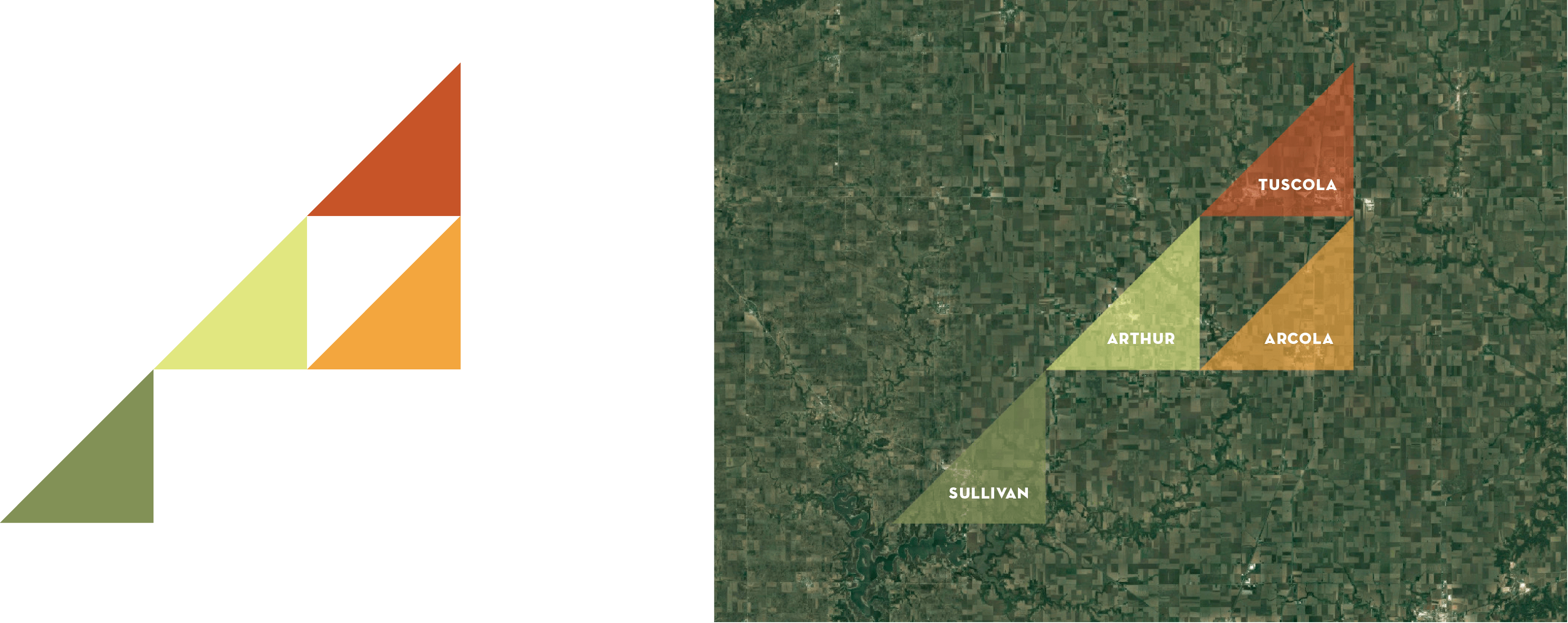 Amish Country of Illinois Branding - Map