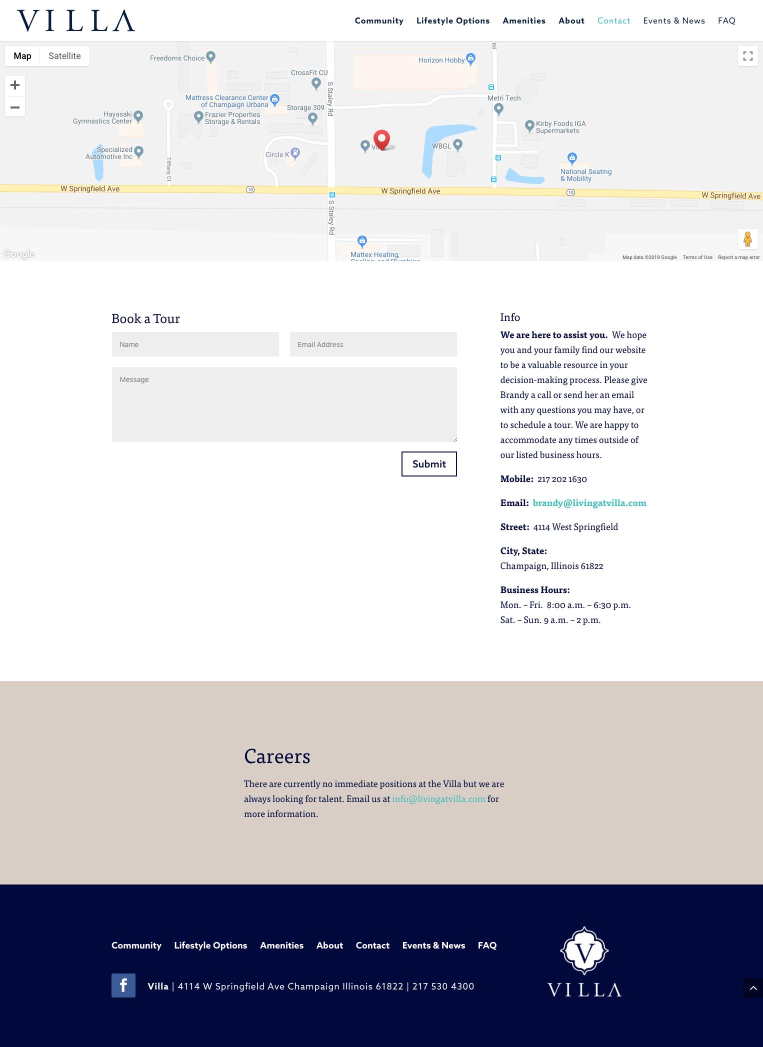 Villa - Website