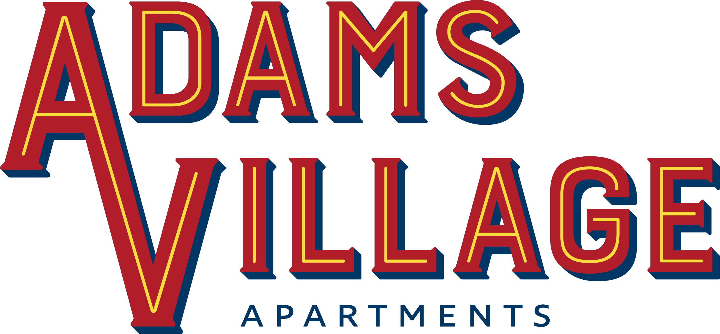 Regency - Adams Village Apartments - Branding