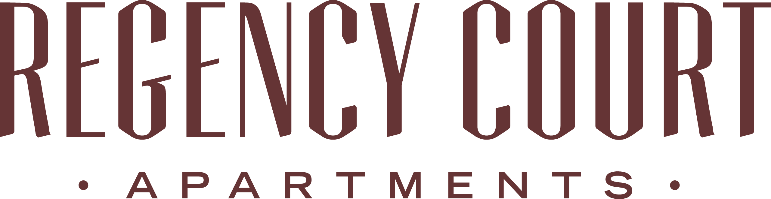 Regency - Regency Court Apartments - Branding