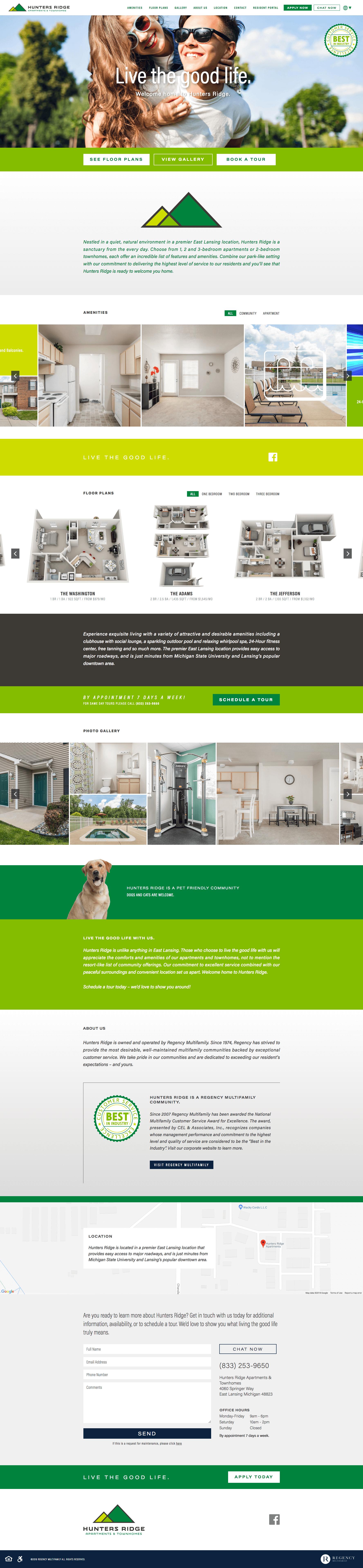 Regency - Property Websites