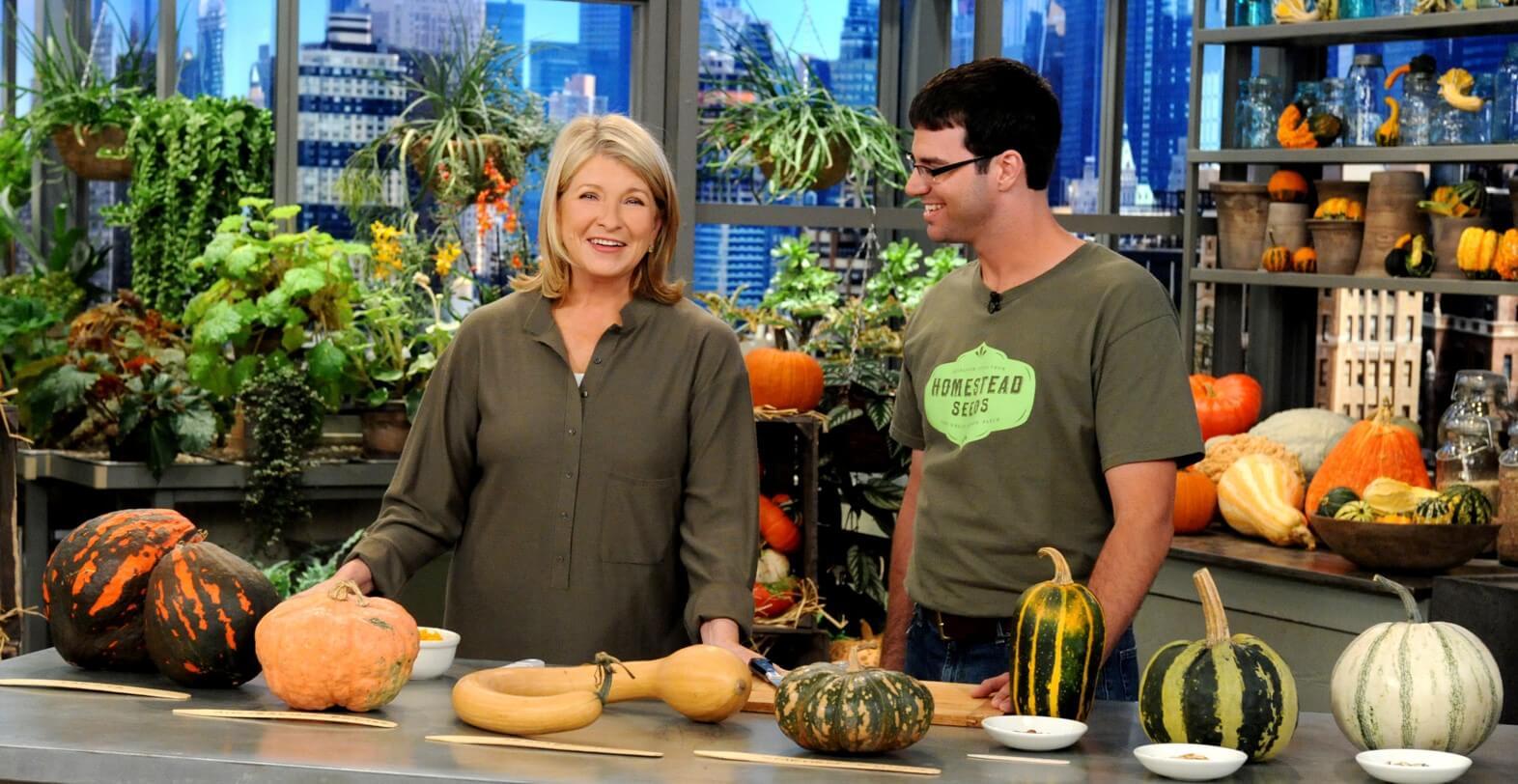 The Great Pumpkin Patch - Arthur, Illinois - Branding - Martha Stewart