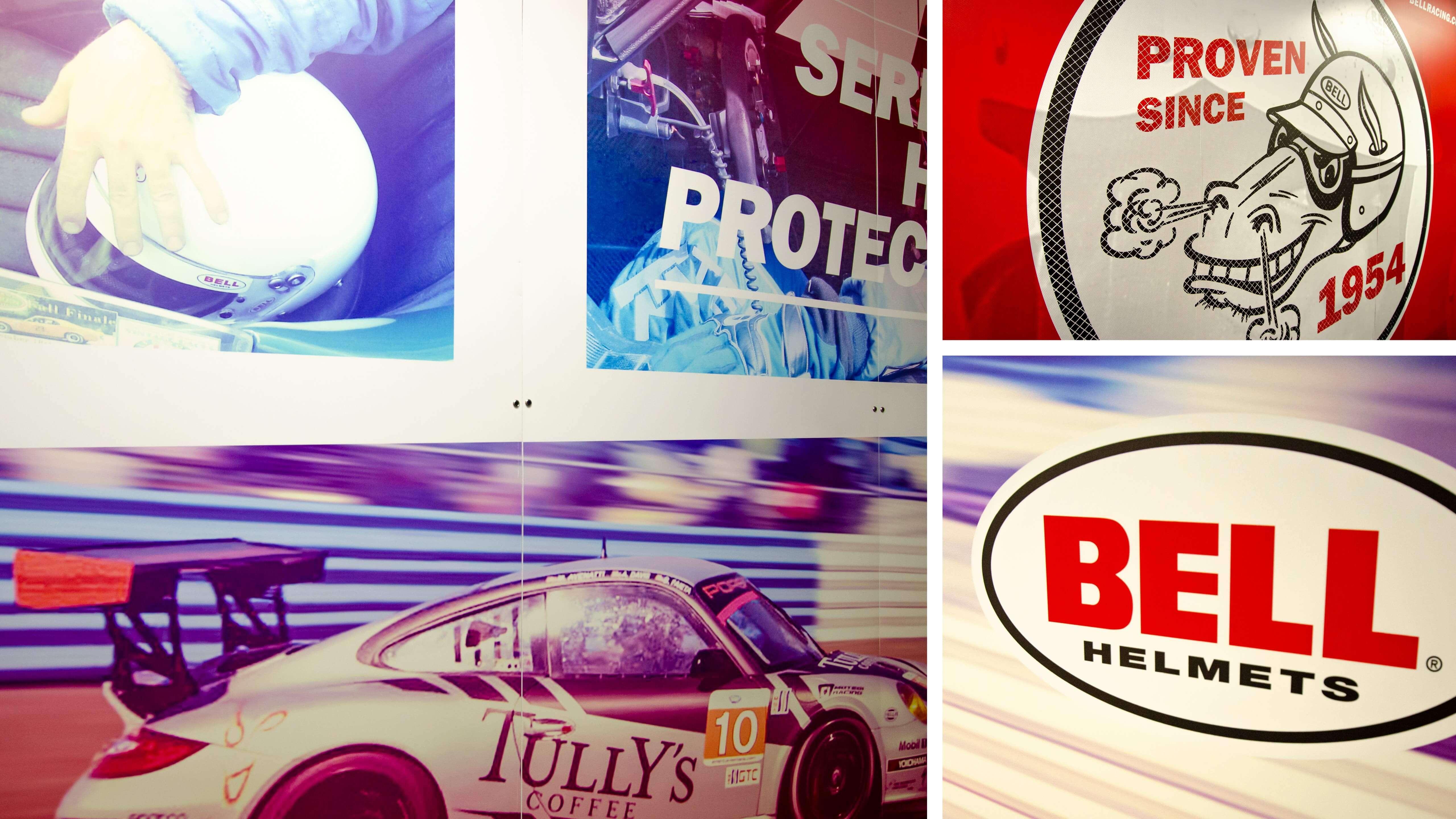 Bell Racing USA - Trade Show Graphics