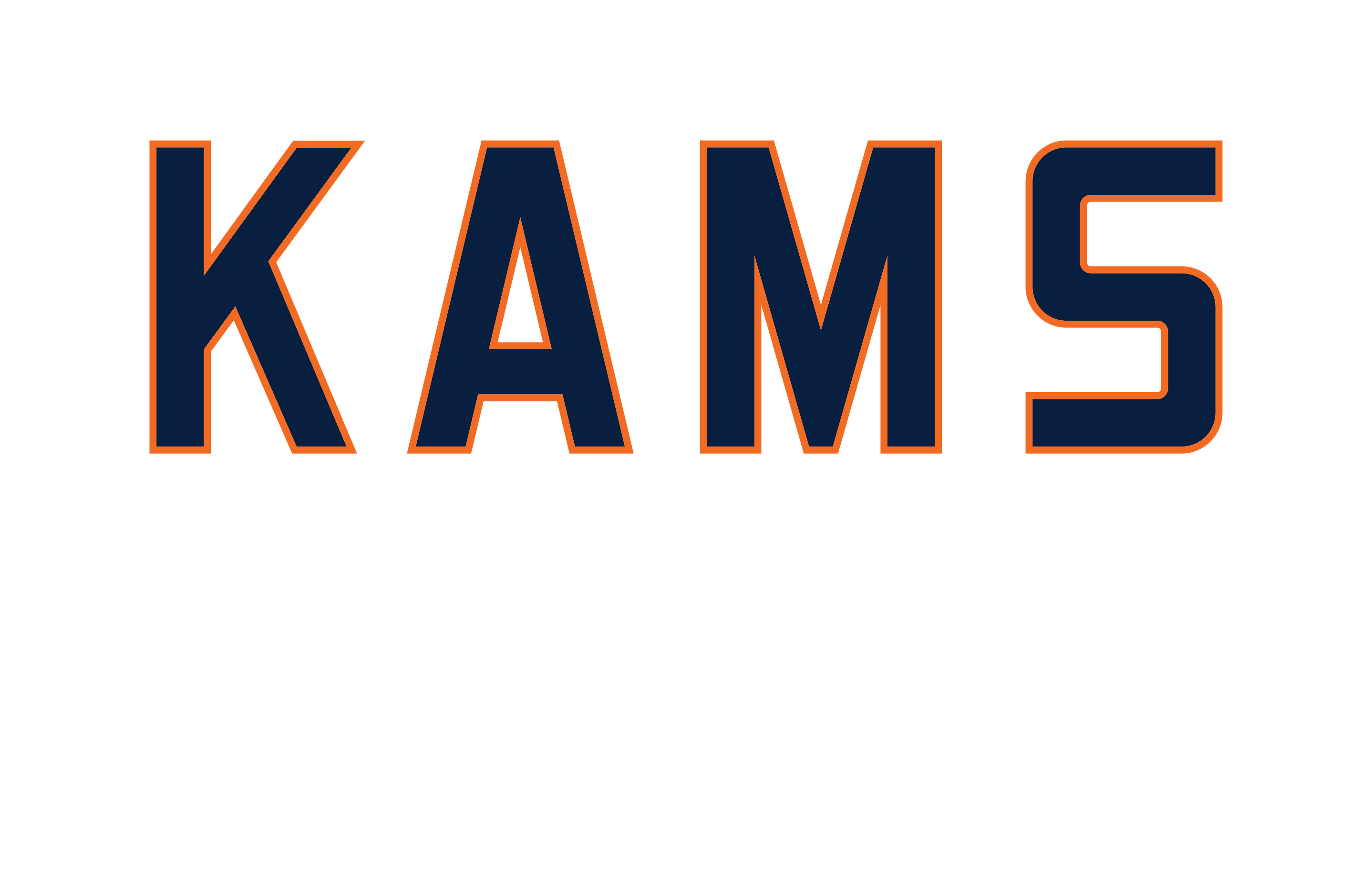 KAMS Branding, Signage, and Apparel