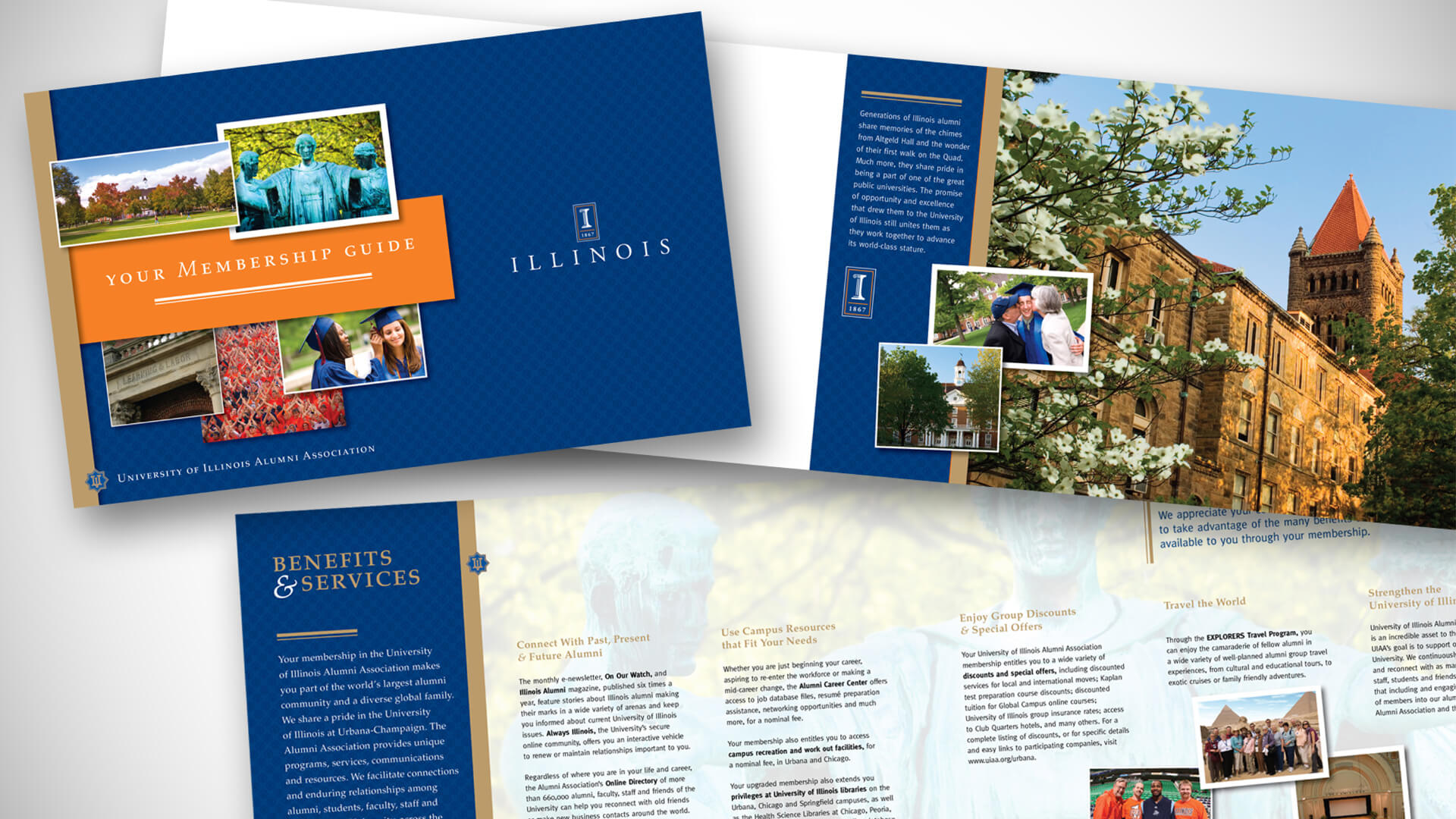 University of Illinois Alumni Association - Membership Brochures