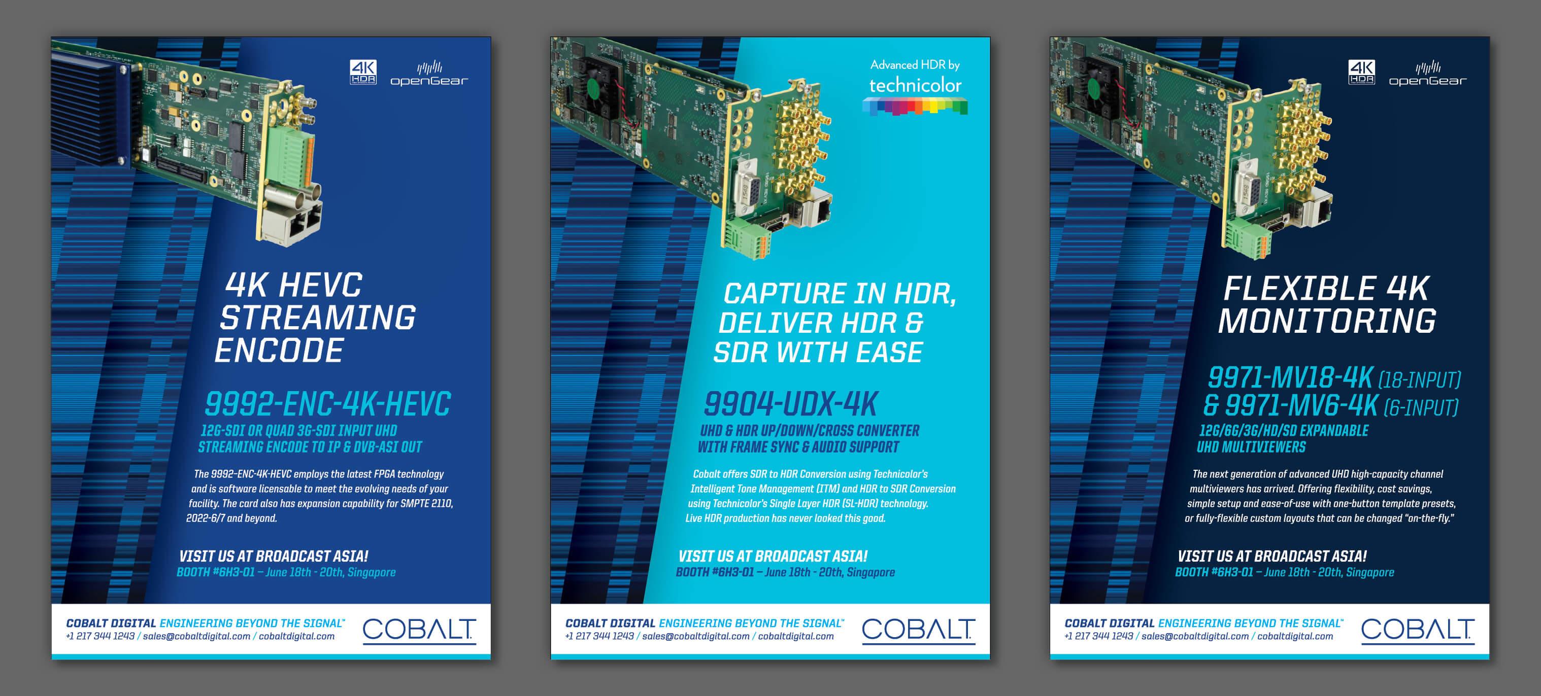 Cobalt Digital | Trade Pub Ads