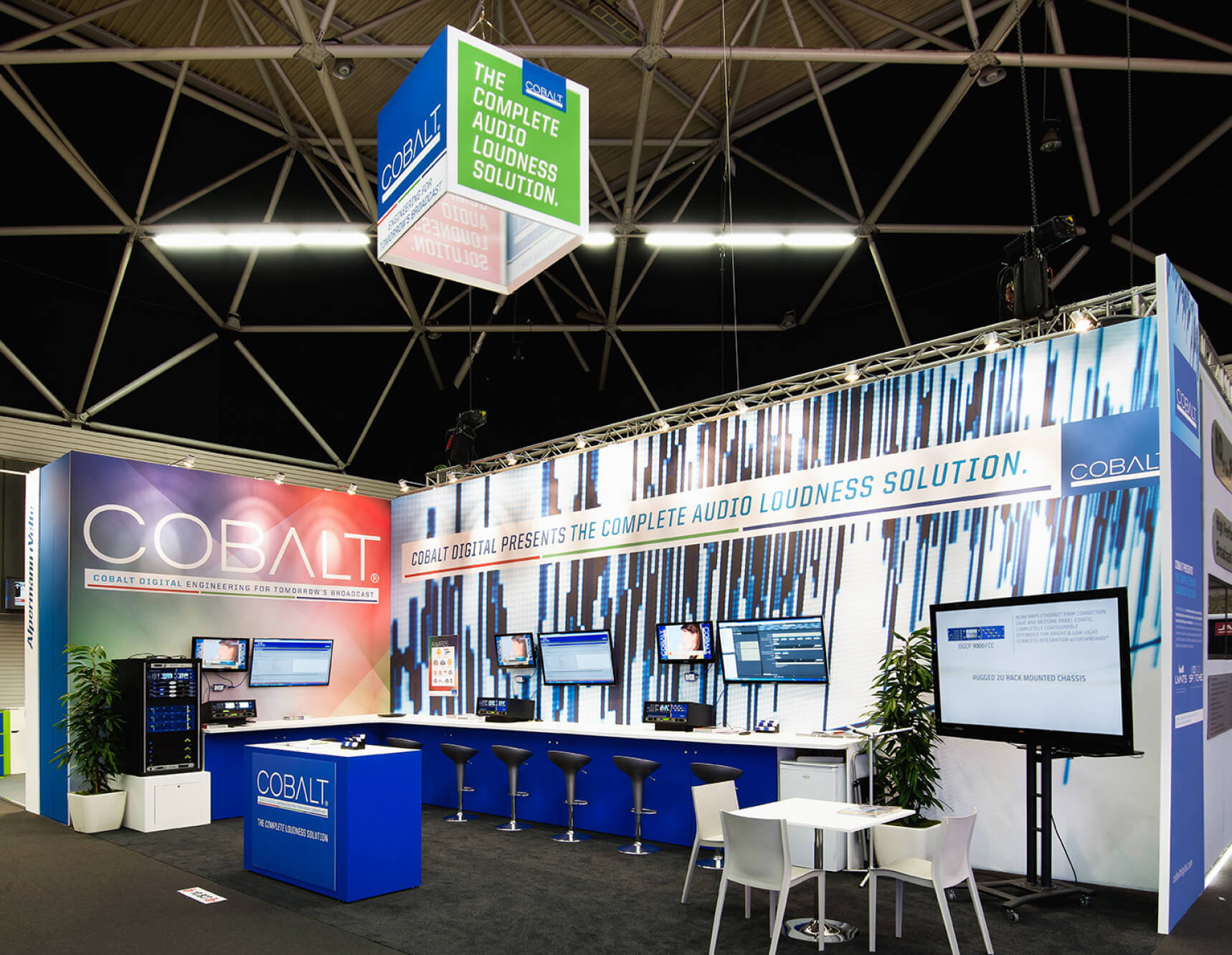 Cobalt Digital | Tradeshow Booth