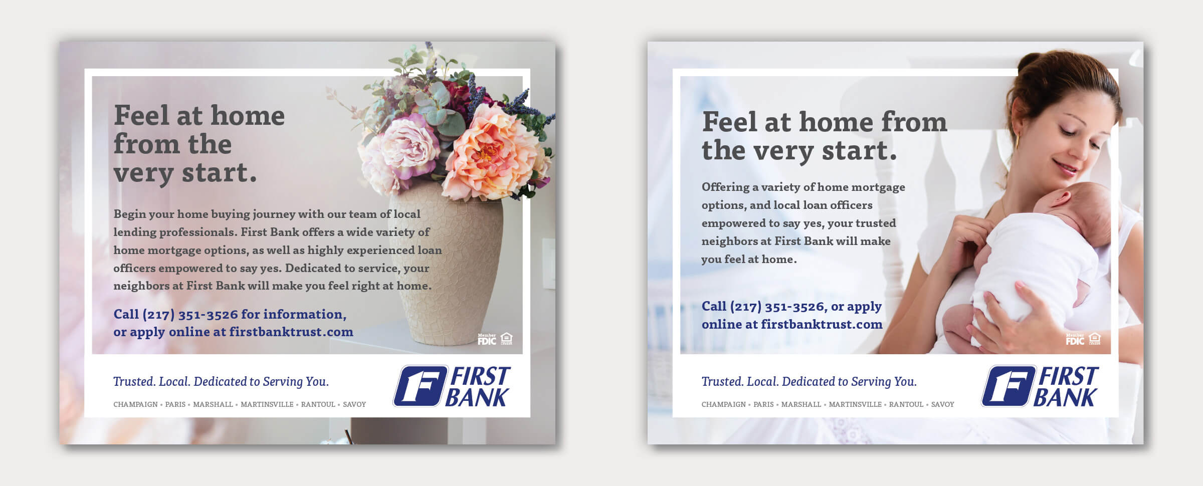 First Bank | Mortgage Campaign