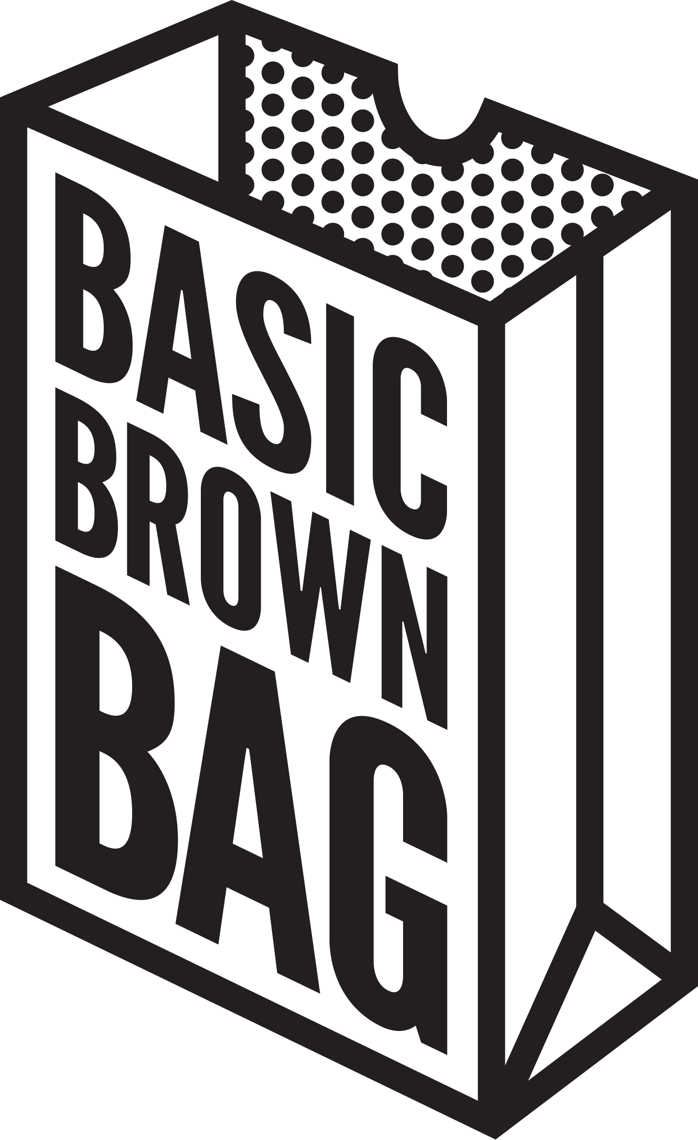 Classic Events Catering - Basic Brown Bag Logo