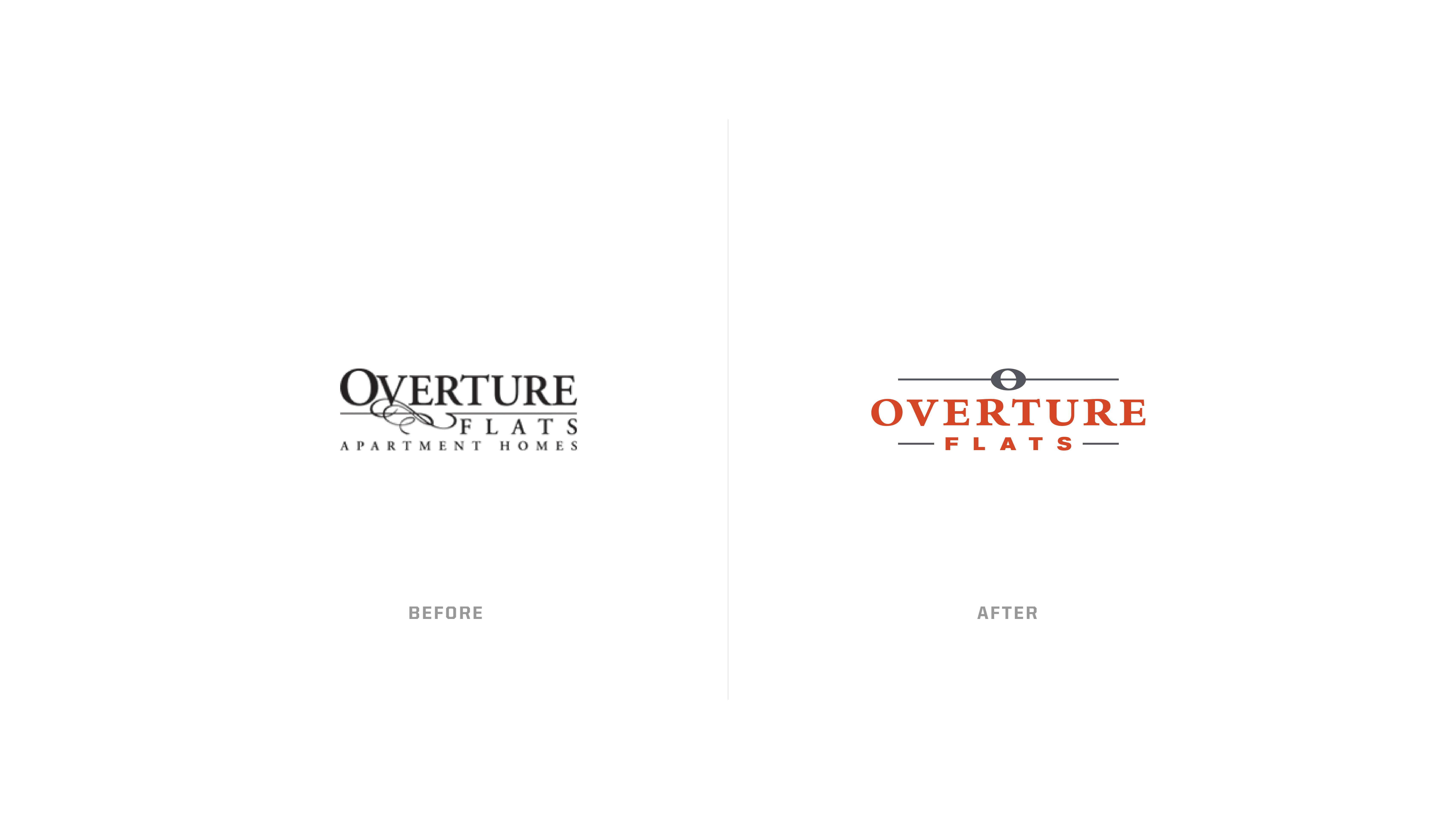 Regency - Overture Flats - Branding