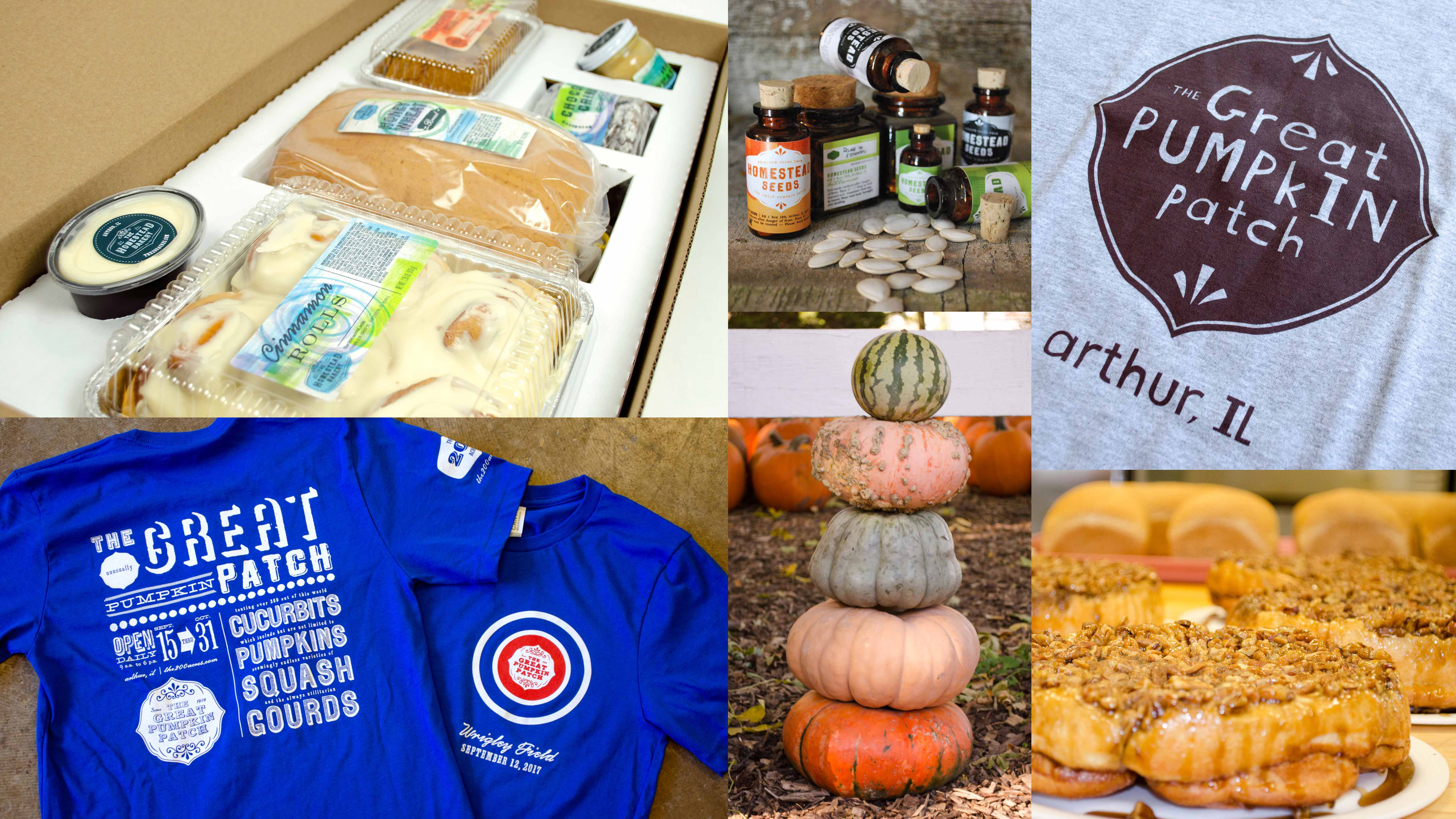 The Great Pumpkin Patch - Arthur, Illinois - Branding